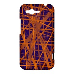 Blue and orange pattern HTC Rhyme