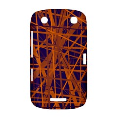 Blue and orange pattern BlackBerry Curve 9380