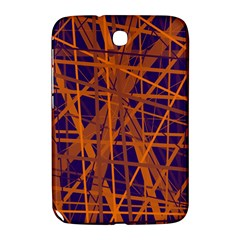 Blue and orange pattern Samsung Galaxy Note 8.0 N5100 Hardshell Case
