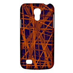 Blue and orange pattern Galaxy S4 Mini