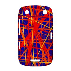 Orange and blue pattern BlackBerry Curve 9380