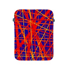 Orange and blue pattern Apple iPad 2/3/4 Protective Soft Cases