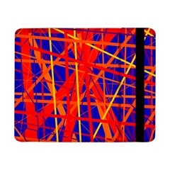 Orange and blue pattern Samsung Galaxy Tab Pro 8.4  Flip Case