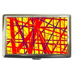 Yellow and orange pattern Cigarette Money Cases