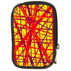 Yellow and orange pattern Compact Camera Cases