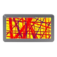 Yellow and orange pattern Memory Card Reader (Mini)