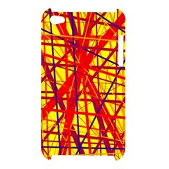 Yellow and orange pattern Apple iPod Touch 4