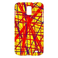 Yellow and orange pattern Samsung Galaxy S II Skyrocket Hardshell Case