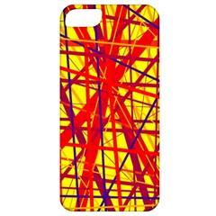 Yellow and orange pattern Apple iPhone 5 Classic Hardshell Case