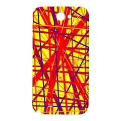 Yellow and orange pattern Samsung Note 2 N7100 Hardshell Back Case