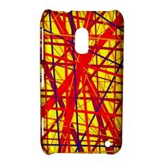 Yellow and orange pattern Nokia Lumia 620