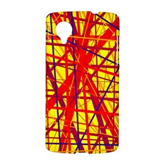 Yellow and orange pattern LG Nexus 5