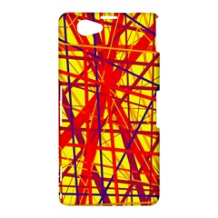 Yellow and orange pattern Sony Xperia Z1 Compact