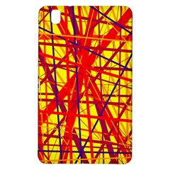 Yellow and orange pattern Samsung Galaxy Tab Pro 8.4 Hardshell Case