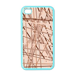 Brown pattern Apple iPhone 4 Case (Color)