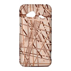 Brown pattern HTC Droid Incredible 4G LTE Hardshell Case