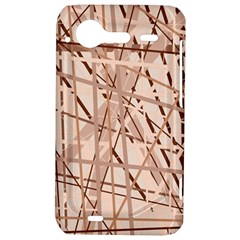 Brown pattern HTC Incredible S Hardshell Case