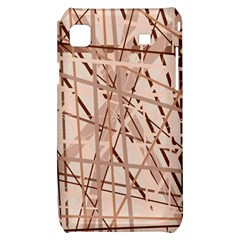 Brown pattern Samsung Galaxy S i9000 Hardshell Case