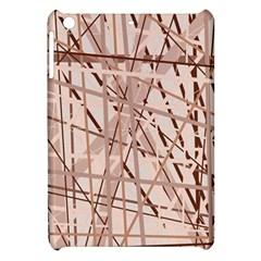 Brown pattern Apple iPad Mini Hardshell Case