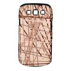 Brown pattern Samsung Galaxy S III Classic Hardshell Case (PC+Silicone)