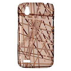 Brown pattern HTC Desire V (T328W) Hardshell Case