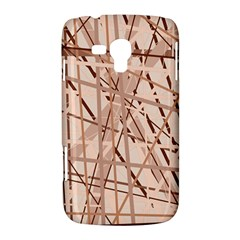 Brown pattern Samsung Galaxy Duos I8262 Hardshell Case