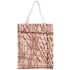 Brown pattern Classic Light Tote Bag