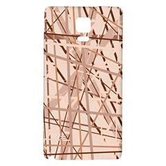 Brown pattern Galaxy Note 4 Back Case