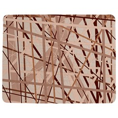 Brown pattern Jigsaw Puzzle Photo Stand (Rectangular)