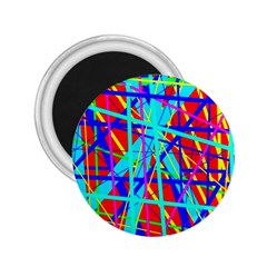 Colorful pattern 2.25  Magnets
