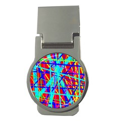 Colorful pattern Money Clips (Round)