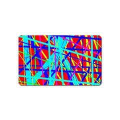 Colorful pattern Magnet (Name Card)