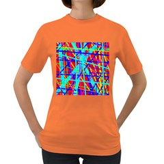 Colorful pattern Women s Dark T-Shirt
