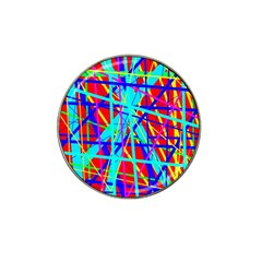 Colorful pattern Hat Clip Ball Marker (10 pack)