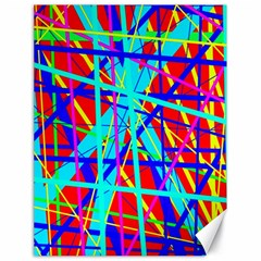 Colorful pattern Canvas 18  x 24