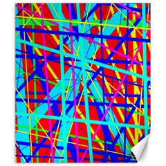 Colorful pattern Canvas 20  x 24