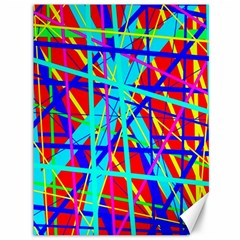Colorful pattern Canvas 36  x 48