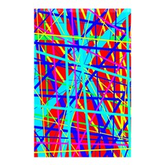 Colorful pattern Shower Curtain 48  x 72  (Small)