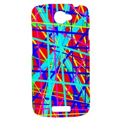 Colorful pattern HTC One S Hardshell Case