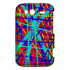 Colorful pattern HTC Wildfire S A510e Hardshell Case