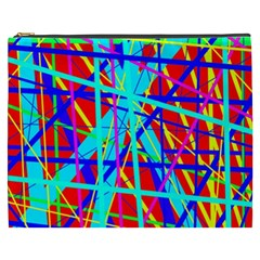 Colorful pattern Cosmetic Bag (XXXL)