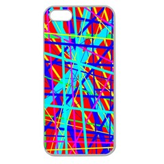 Colorful pattern Apple Seamless iPhone 5 Case (Clear)
