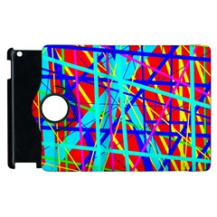 Colorful pattern Apple iPad 2 Flip 360 Case