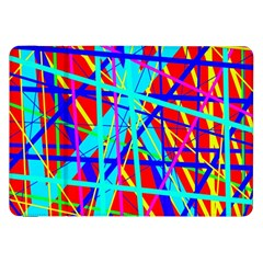 Colorful pattern Samsung Galaxy Tab 8.9  P7300 Flip Case