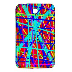 Colorful pattern Samsung Galaxy Tab 3 (7 ) P3200 Hardshell Case