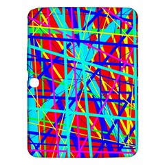 Colorful pattern Samsung Galaxy Tab 3 (10.1 ) P5200 Hardshell Case