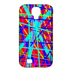 Colorful pattern Samsung Galaxy S4 Classic Hardshell Case (PC+Silicone)