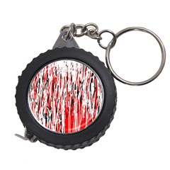 Red, black and white pattern Measuring Tapes