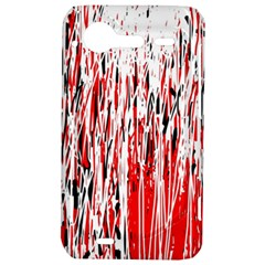 Red, black and white pattern HTC Incredible S Hardshell Case