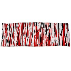 Red, black and white pattern Body Pillow Case Dakimakura (Two Sides)